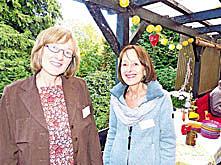 Vom Projekt überzeugt: Regina Fleck (links) und Uschi Hilbert.